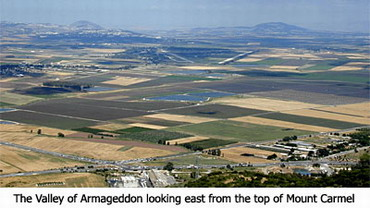 Valley of Megiddo and where some believe the battle of Armageddon will be held